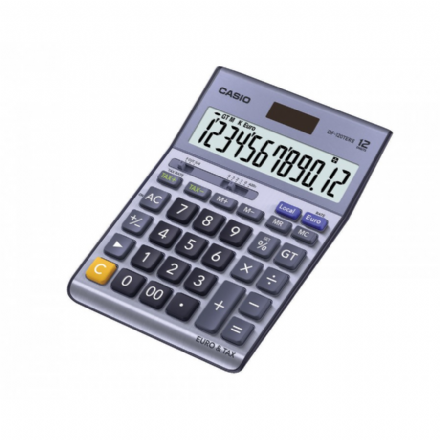 Casio DF-120 TERII Desk Calculator
